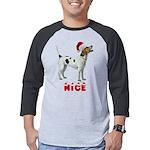 Nice American Foxhound Mens Baseball Tee