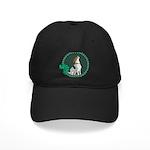 Irish American Foxhound Black Cap with Patch