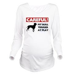 American Pit Bull Terrier Long Sleeve Maternity T-