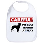 American Pit Bull Terrier Cotton Baby Bib