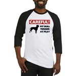 American Pit Bull Terrier Baseball Tee