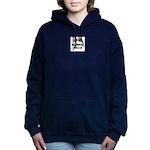 Bearded Collie Gifts Women's Hooded Sweatshirt