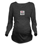 Bearded Collie Gifts Long Sleeve Maternity T-Shirt