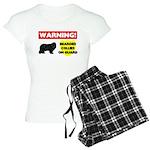 Bearded Collie Gifts Women's Light Pajamas