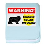 Bearded Collie Gifts baby blanket
