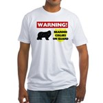 Bearded Collie Gifts Fitted T-Shirt