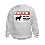 Belgian Sheepdog Gifts Kids Sweatshirt