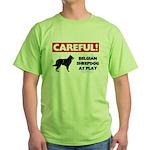 Belgian Sheepdog Gifts Green T-Shirt