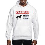 Belgian Sheepdog Gifts Hooded Sweatshirt