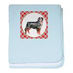 Bernese Mountain Dog Gifts baby blanket