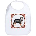 Bernese Mountain Dog Gifts Cotton Baby Bib