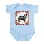 Bernese Mountain Dog Gifts Baby Light Bodysuit