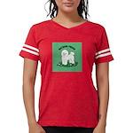 Bichon Frise Womens Football Shirt