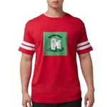 Bichon Frise Mens Football Shirt