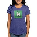 Bichon Frise Womens Tri-blend T-Shirt