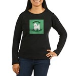 Bichon Frise Women's Long Sleeve Dark T-Shirt