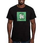 Bichon Frise Men's Fitted T-Shirt (dark)