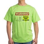 Bichon Frise Green T-Shirt