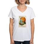 Witches Abound Women's V-Neck T-Shirt