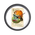 Witches Abound Wall Clock