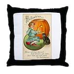 Witches Abound Throw Pillow