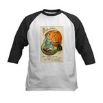 Witches Abound Kids Baseball Jersey