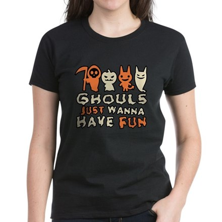 Ghouls Just Wanna Have Fun Funny Halloween T-Shirt