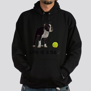 Boston Terrier Life Hoodie (dark)