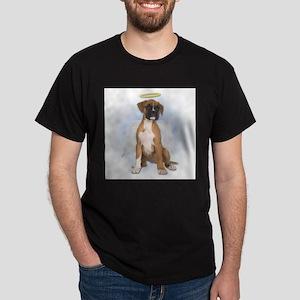 Angel Boxer Puppy Dark T-Shirt