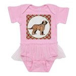 Briard Dog Gifts Baby Tutu Bodysuit