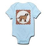 Briard Dog Gifts Baby Light Bodysuit
