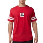 Bull Terrier Mens Football Shirt