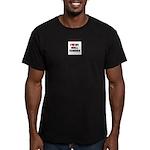 Bull Terrier Men's Fitted T-Shirt (dark)