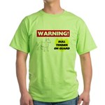 Bull Terrier Green T-Shirt