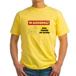 Bull Terrier Yellow T-Shirt