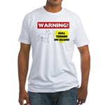 Bull Terrier Fitted T-Shirt