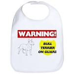 Bull Terrier Cotton Baby Bib