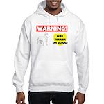 Bull Terrier Hooded Sweatshirt