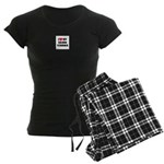 Cairn Terrier Gifts Women's Dark Pajamas