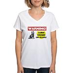 Cairn Terrier Gifts Women's V-Neck T-Shirt