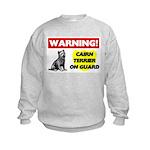 Cairn Terrier Gifts Kids Sweatshirt