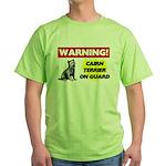 Cairn Terrier Gifts Green T-Shirt
