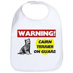Cairn Terrier Gifts Cotton Baby Bib