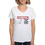 Cavalier King Charles Spaniel Women's V-Neck T