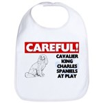 Cavalier King Charles Spaniel Cotton Baby Bib