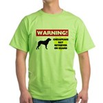Chesapeake Bay Retriever Gift Green T-Shirt
