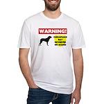 Chesapeake Bay Retriever Gift Fitted T-Shirt
