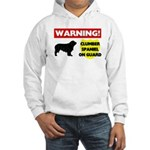 Clumber Spaniel Hooded Sweatshirt