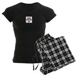 Dalmatian Gifts Women's Dark Pajamas