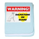Dalmatian Gifts baby blanket